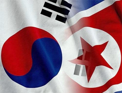 Two Korean Flags