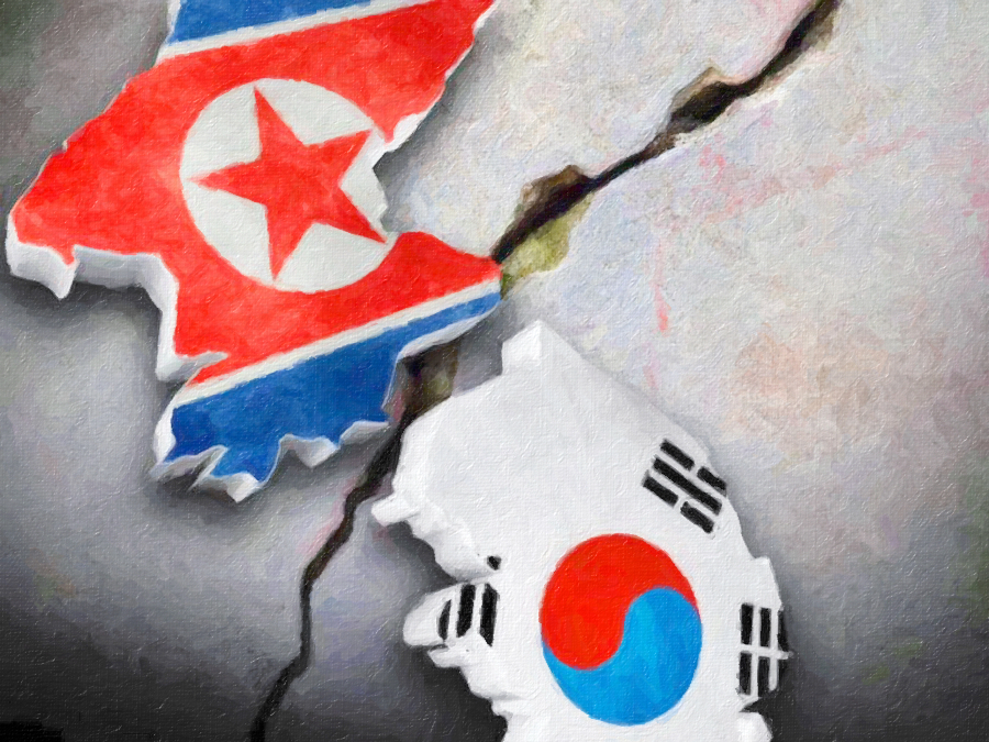 the genesis of the conflicts and split between north korea and south korea Relations between north korea and south korea escalated again in the spring of 2013, during us and south korea's annual large-scale joint military exercises, key resolve and foal eagle as a response, pyongyang withdrew from the armistice agreement and threatened teh use of nuclear weapons.