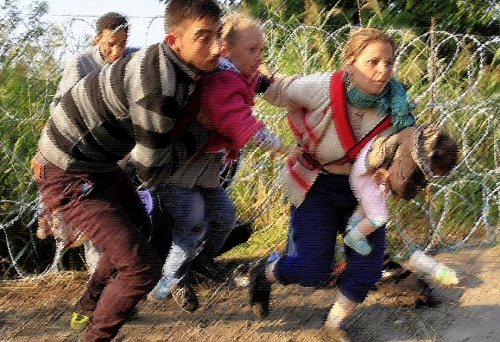 Refugees in Hungary2