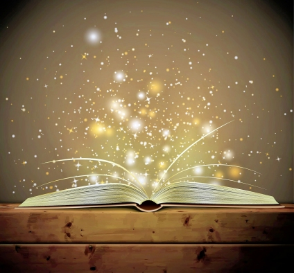 Book sparkle